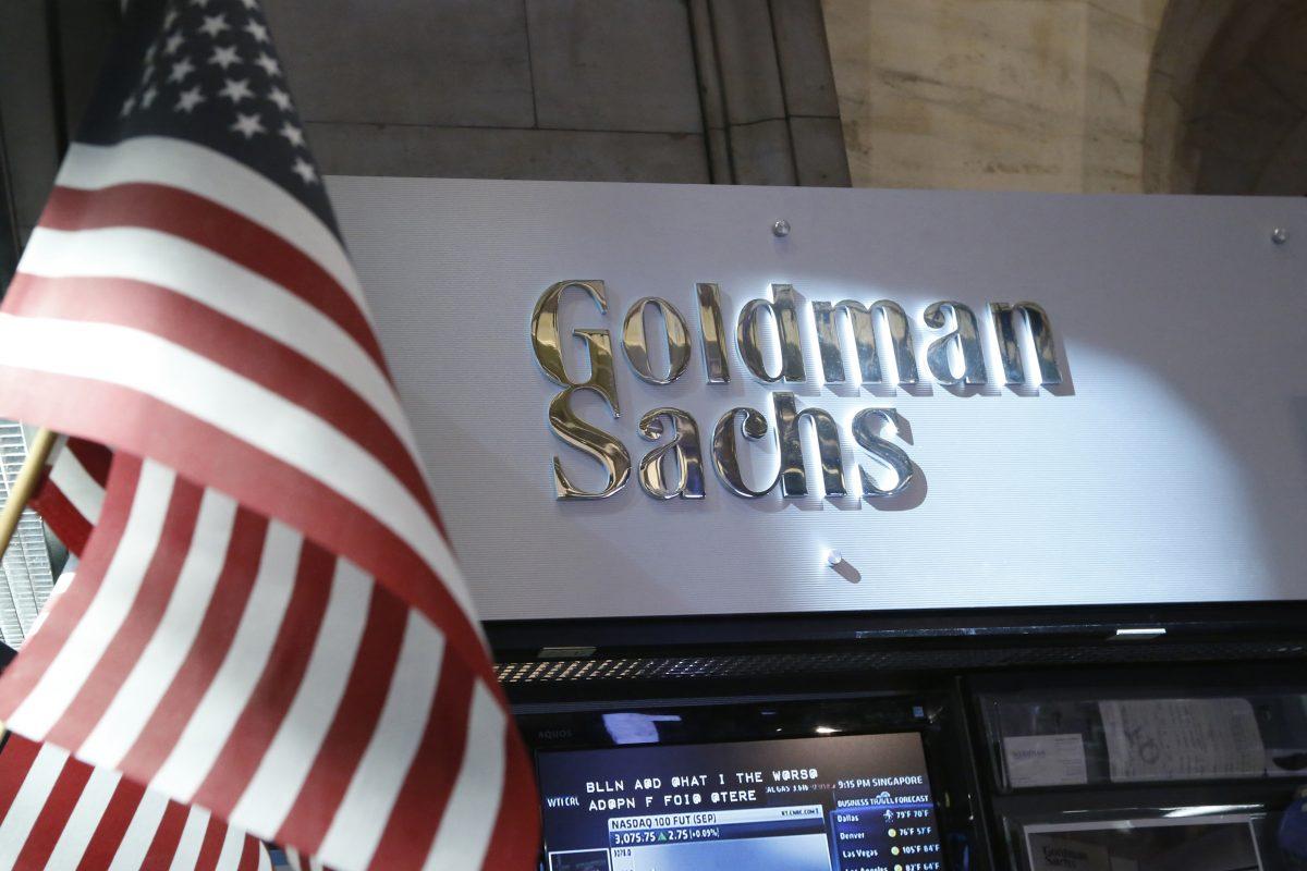 view of the Goldman Sachs