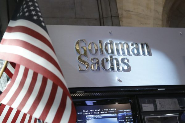 view of the Goldman Sachs