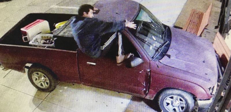 Drunk Man Crashes Truck Into Courthouse to Report Stolen