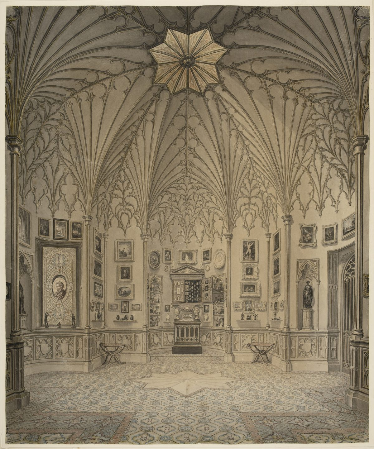Horace Walpole Strawberry Hill House
