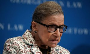 Ruth Bader Ginsburg Returns to Work at Supreme Court After Fall