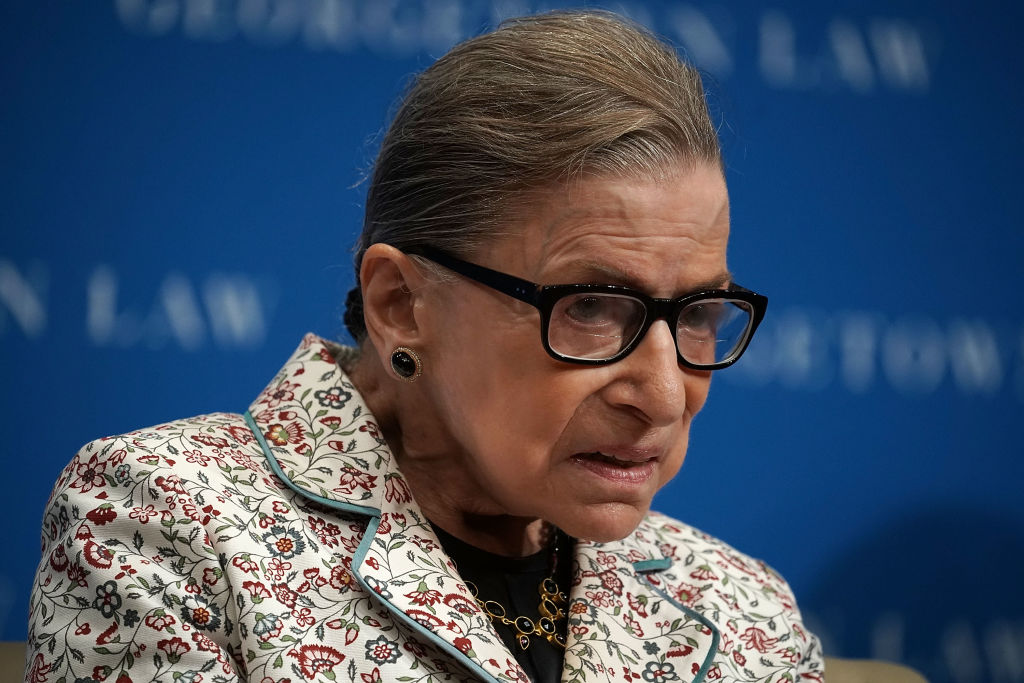 Ginsburg Has Radiation Treatment for Tumor