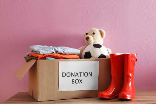 There are many charitable organizations who would love to receive items that are still in good condition this time of year. (Shutterstock)