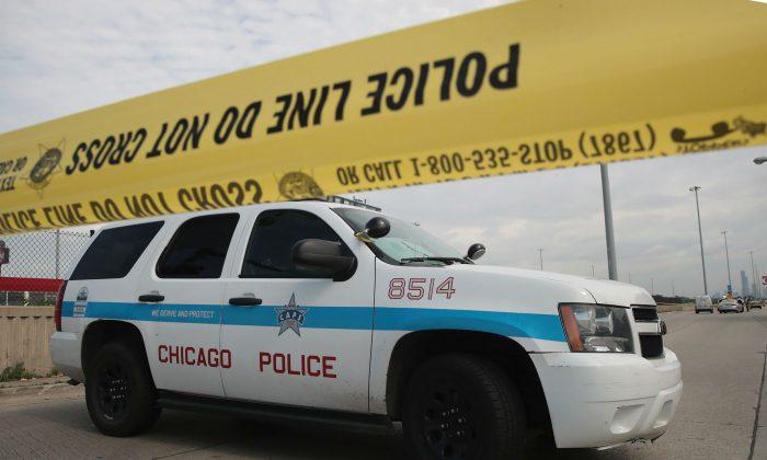 A stock crime scene photo. (Scott Olson/Getty Images)