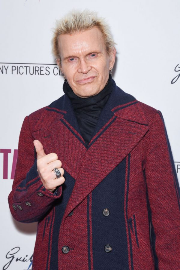 Billy Idol attends an event in Los Angeles