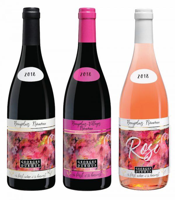 Georges Duboeuf Beaujolais Nouveau wines 2018
