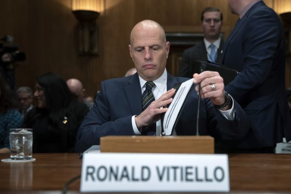 Ronald Vitiello ICE head nominee