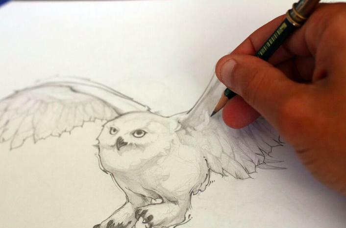 own_drawing_Icelantic_ski_Travis_Parr