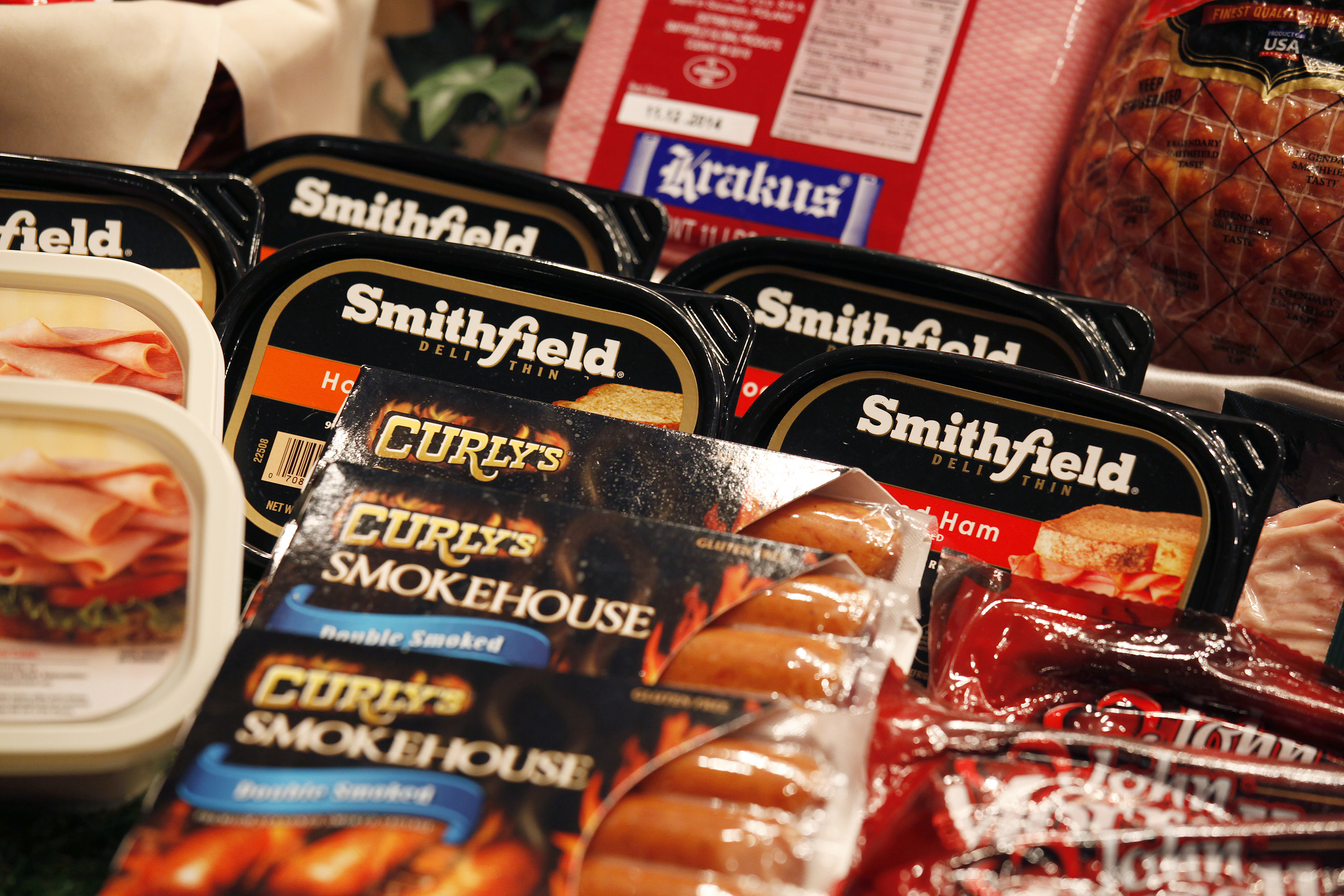Some of the products of Smithfield Foods