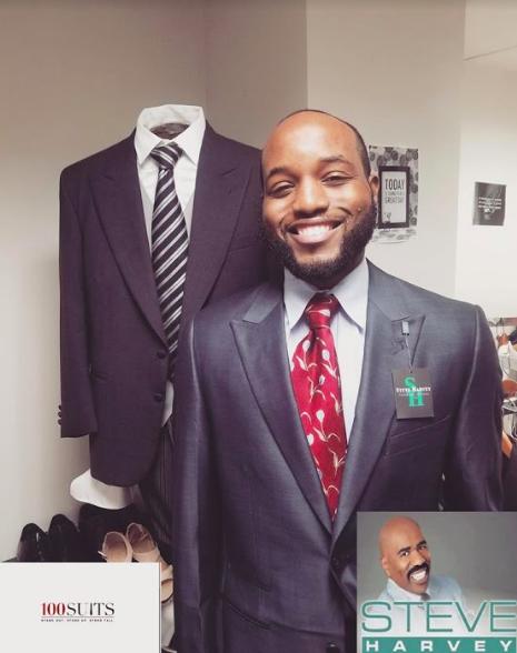 Steve_Harvey_donates_suit_to_100_Suits