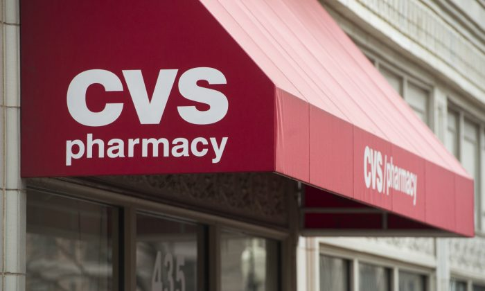 A CVS Pharmacy drug store is seen in Washington, on Dec. 21, 2016. (Saul Loeb/AFP/Getty Images)