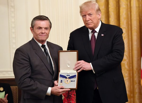 President Donald Trump awards the Presidential Medal of Freedom