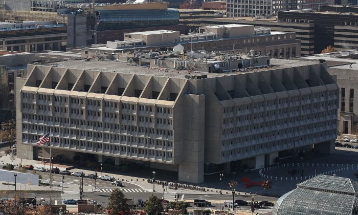 The U.S. Department of Health and Human Services, Hubert H. Humphrey Building, in Washington on Nov. 15, 2016. (Mark Wilson/Getty Images)