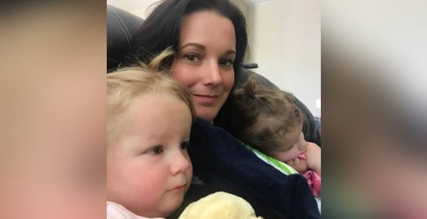Shanann Watts and her two daughters