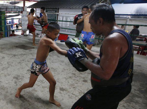 Thai kickboxer Chaichana Saengngern