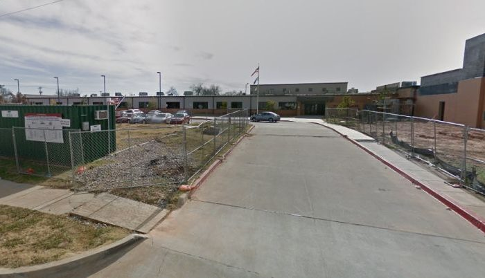 Police and emergency crews were called to Fillmore Elementary School about the reported dog attack, according to KFOR. (Google Street View)