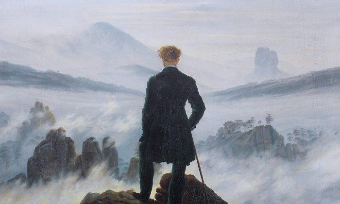 A detail from Casper David Friedrich's 'Wanderer Above the Sea of Fog.' (Public Domain)