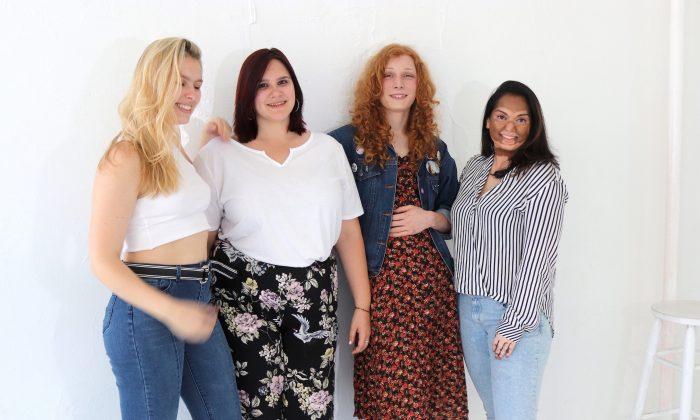 Four We Speak models. (Liza Kanaeva)