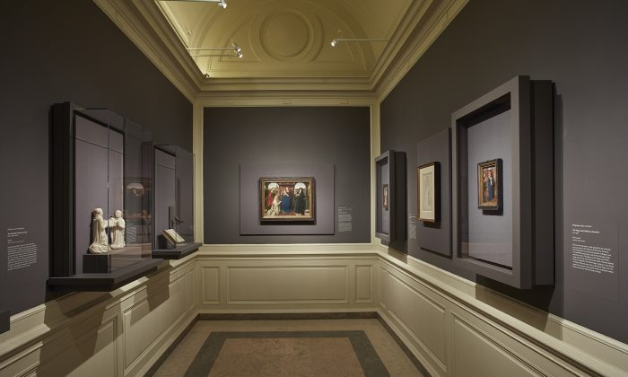 """The Charterhouse of Bruges: Jan van Eyck, Petrus Christus, and Jan Vos"" exhibition in the Chamber Gallery of The Frick Collection is on view until Jan. 13, 2019. (The Frick Collection)"