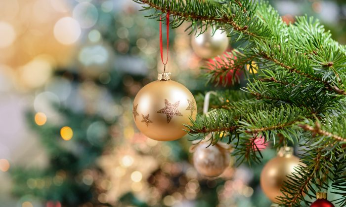 Local authorities in the German town of Roth temporarily called off an annual event where children hang hand written notes with their wish lists from a Christmas tree in the town's center due to European privacy laws.  (ER_09/Shutterstock)