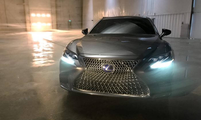 Lexus LS 500h. (Courtesy of Lexus Newsroom)