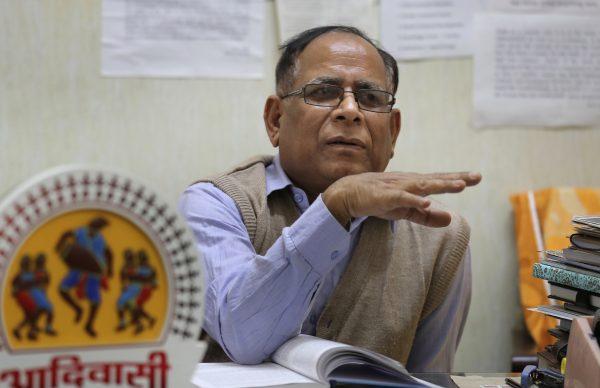 Anthropology professor at Delhi University