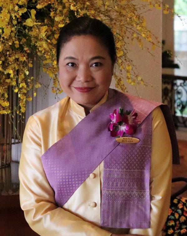 Busaba Sattabun, Dusit Thani guest relations manager.