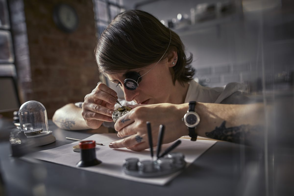 Struthers Watchmakers Magnification Hand Skills