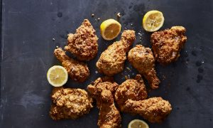 Pollo Fritto per Hanukkah (Fried Chicken for Hanukkah)