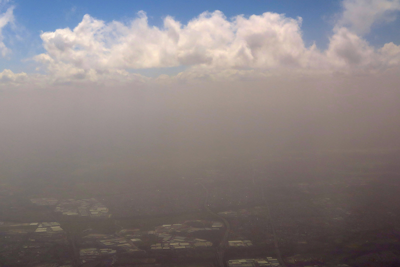 Dust storm in sydney