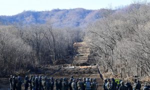 North Korea Blows Up Military Posts, Connects Road at Border With South Korea in Peace Efforts
