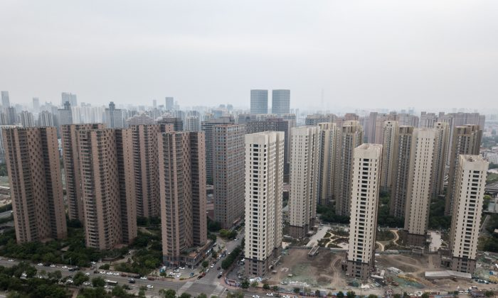 Residential developments are seen in Tianjin City on May 10, 2018. (Fred Dufour/AFP/Getty Images)