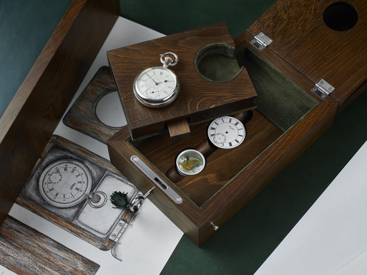 Struthers Watchmakers Pocket Watch