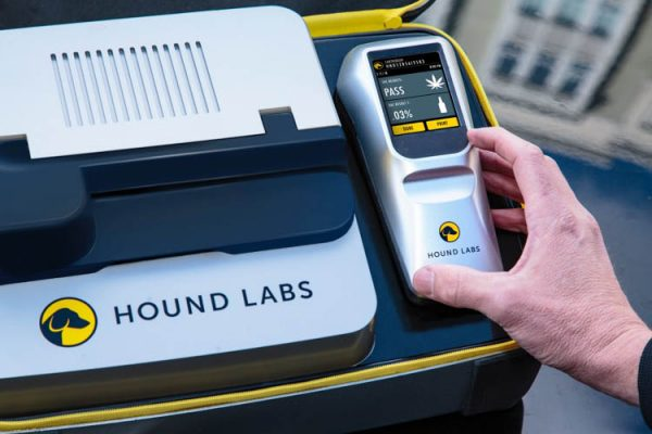 breathalyzer to detect recent marijuana use