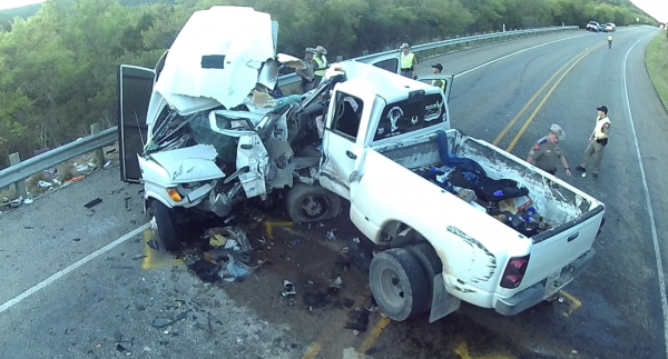 20-year-old man crashes truck into bus killing all but one passenger and the bus driver