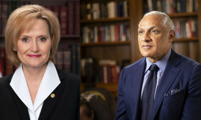 Cindy Hyde-Smith (R) and Mike Espy. (hydesmith.senate.gov (R) espyforsenate.com)