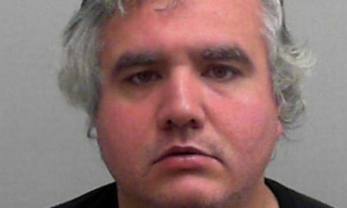 John Harris, 36, is said to have escaped from the low-security Leyhill Prison, Gloucheshire, in October 2018. (Avon and Somerset Police)