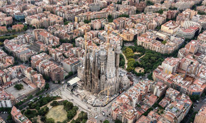 The Basilica of the Sagrada Familia in Barcelona (CourtesySagrada Familia Foundation. All rights reserved)