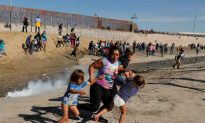 Navy SEAL Challenges Iconic Image of Teargassed Migrants at Mexico Border