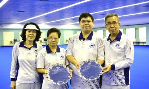 HKFC Dominate Indoor Pairs for the Second Year