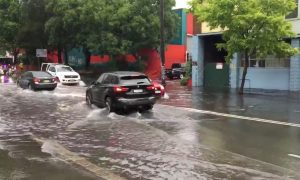 Sydney Streets Flooded After Torrential Rain Fell Overnight