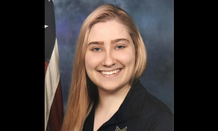 Kayla Riler, of the California Highway Patrol's Stockton Communications Center, has been commended for helping to peacefully end a six-hour standoff. (CHP – Stockton)