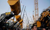 Construction Machine Makers Brace for Weaker China Sales as Economy Slows