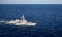 Two US Navy Ships Pass Through Taiwan Strait, Opposing China