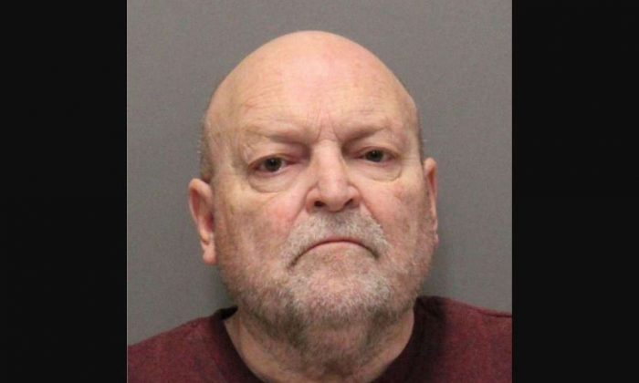 John Arthur Getreu, 74, of Hayward, was arrested on Nov. 20, 2018, for allegedly killing 21-year-old Leslie Perlov in Palo Alto, Calif., in February 1973. (Santa Clara County Sheriff's Office)