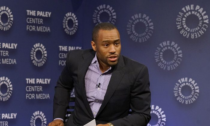 Moderator Marc Lamont Hill attends BET Presents 'An Evening With 'The Quad'' At The Paley Center in New York City on Dec. 7, 2016. (Bennett Raglin/Getty Images for BET Networks)