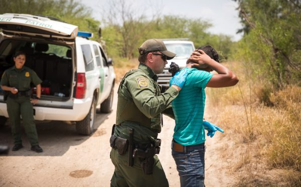 border patrol arrests illegal