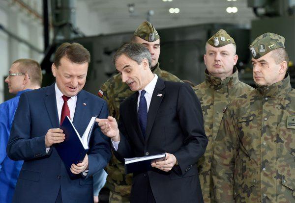 Polish Defence Minister Mariusz Blaszczak