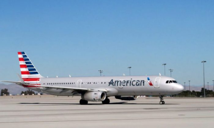 An American Airlines plane on the tarmac in a file photo. (Rhona Wise/AFP/Getty Images)