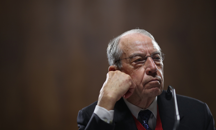 Senate Judiciary Committee Chairman Sen. Chuck Grassley (R-IA) attends a committee hearing on Capitol Hill November 15, 2018 in Washington, DC. (Win McNamee/Getty Images)